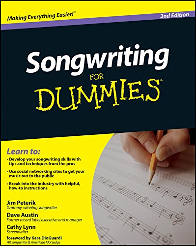 9780470615140: Songwriting For Dummies, 2nd Edition