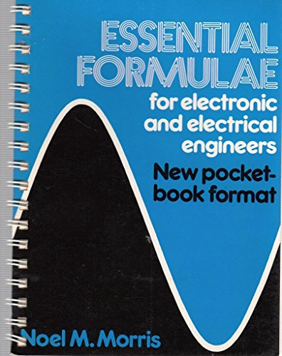 9780470615652: Essential formulae for electronic and electrical engineers