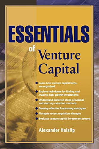 9780470616222: Essentials of Venture Capital