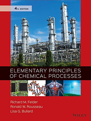 9780470616291: Elementary Principles of Chemical Processes