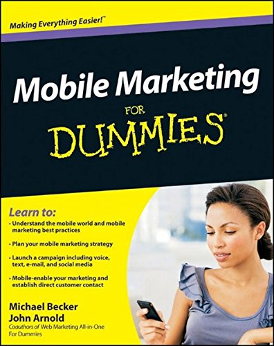 9780470616680: Mobile Marketing For Dummies