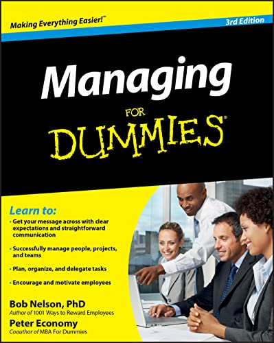 9780470618134: Managing for Dummies