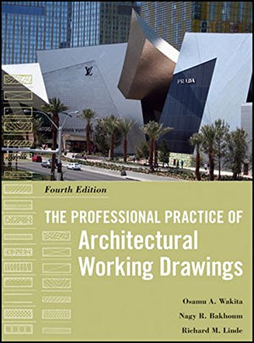 9780470618158: The Professional Practice of Architectural Working Drawings