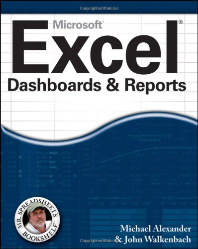 9780470620120: Excel Dashboards and Reports (Mr. Spreadsheet's Bookshelf)