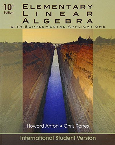 9780470620632: Elementary Linear Algebra with Applications (Wiley Plus Products)