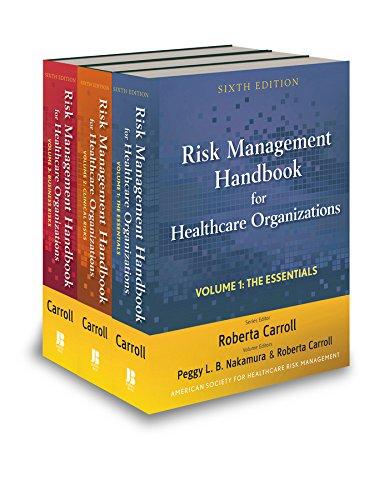 9780470620809: Risk Management Handbook for Health Care Organizations, 3 Volume Set