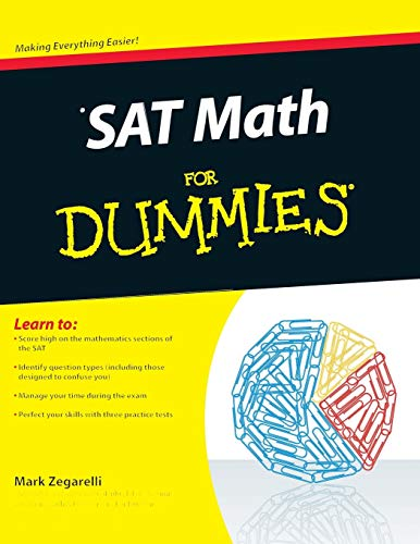 9780470620854: SAT Math For Dummies