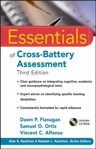9780470621950: Essentials of Cross-Battery Assessment