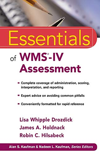 Essentials of WMS-IV Assessment (Paperback): Lisa W. Drozdick