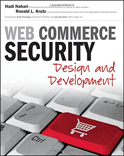 9780470624463: Web Commerce Security: Design and Development