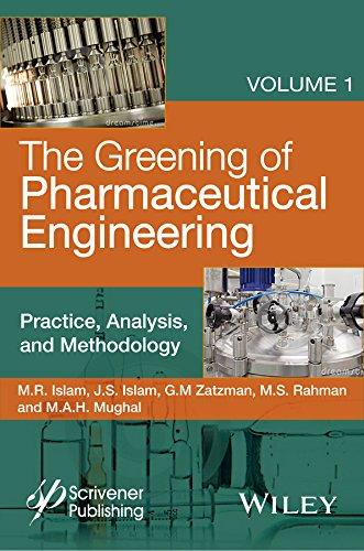 9780470626030: The Greening of Pharmaceutical Engineering, Practice, Analysis, and Methodology (Wiley-scrivener) (Volume 1)
