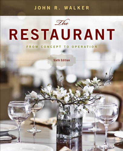 9780470626436: The Restaurant: From Concept to Operation