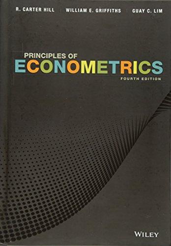9780470626733: Principles of Econometrics