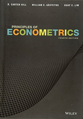 9780470626733: Principles of Econometrics