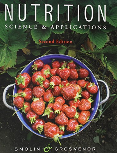 9780470626740: Nutrition: Science and Applications with Booklet package