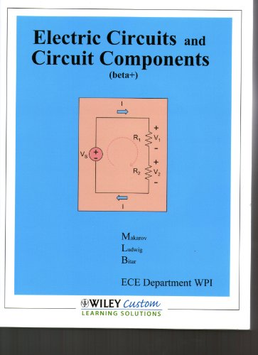 9780470627266: Electric Circuits and Circuit Components (Beta+)