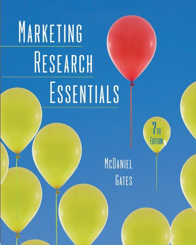 9780470627631: Marketing Research Essentials