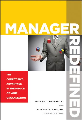 9780470627723: Manager Redefined: The Competitive Advantage in the Middle of Your Organization
