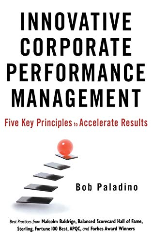 9780470627730: Innovative Corporate Performance Management: Five Key Principles to Accelerate Results