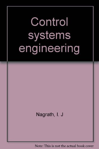 9780470628669: Control Systems Engineering