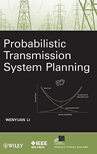9780470630013: Probabilistic Transmission System Planning