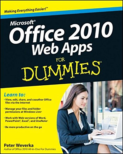 9780470631676: Office 2010 Web Apps For Dummies