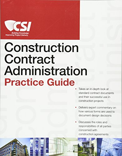 9780470635186: The CSI Construction Contract Administration Practice Guide