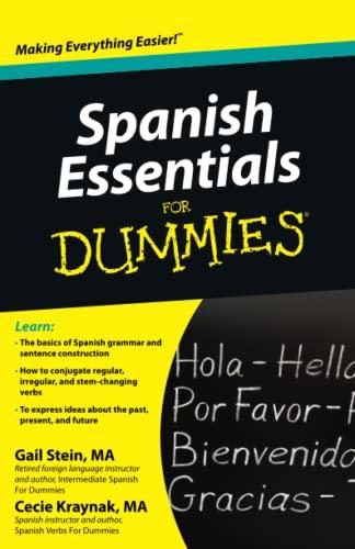 9780470637517: Spanish Essentials for Dummies