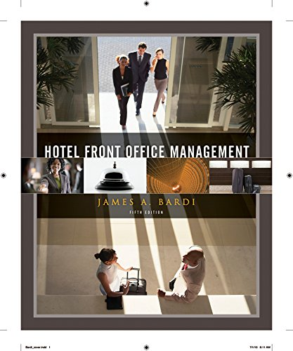 9780470637524: Hotel Front Office Management
