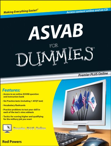 9780470637616: ASVAB For Dummies