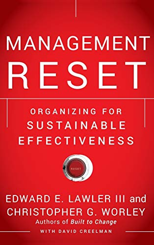 9780470637982: Management Reset: Organizing for Sustainable Effectiveness