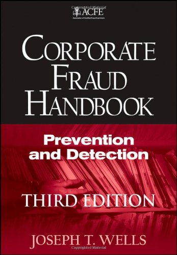 9780470638781: Corporate Fraud Handbook: Prevention and Detection