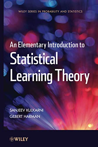 9780470641835: An Elementary Introduction to Statistical Learning Theory