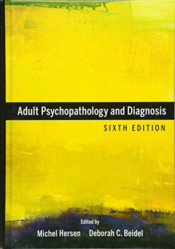 9780470641941: Adult Psychopathology and Diagnosis