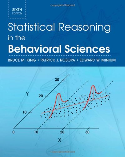 9780470643822: Statistical Reasoning in the Behavioral Sciences