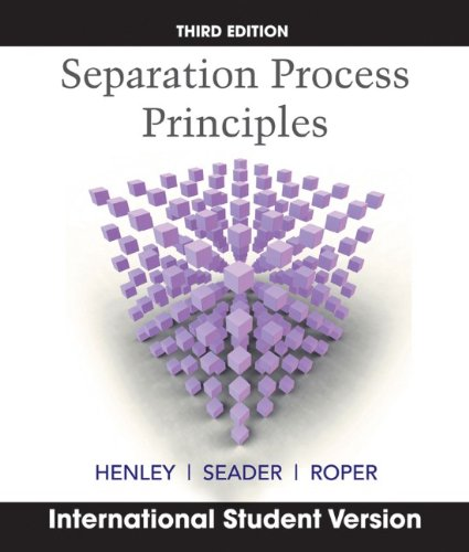 9780470646113: Separation Process Principles