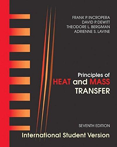 9780470646151: Heat and Mass Transfer, Seventh Edition International Student Version