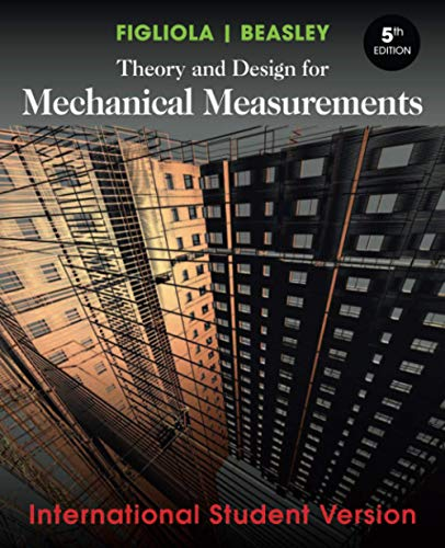 9780470646182: Theory and Design for Mechanical Measurements (International Student Version)