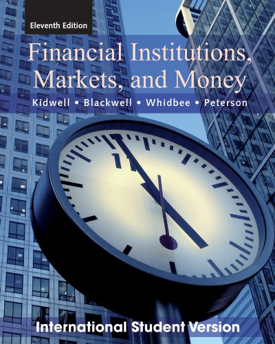 9780470646199: Financial Institutions, Markets and Money.