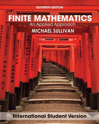 9780470646250: Finite Mathematics: An Applied Approach