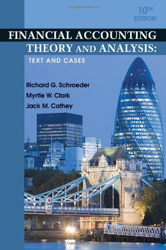 9780470646281: Financial Accounting Theory and Analysis: Text and Cases