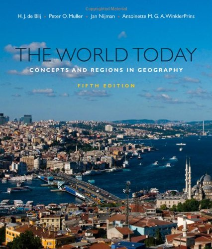 9780470646380: The World Today: Concepts and Regions in Geography