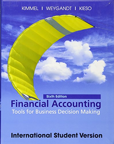 9780470646458: Financial Accounting: Tools for Business Decision Making