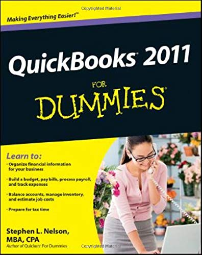 9780470646496: Quickbooks 2011 for Dummies