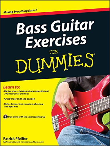 9780470647226: Bass Guitar Exercises For Dummies