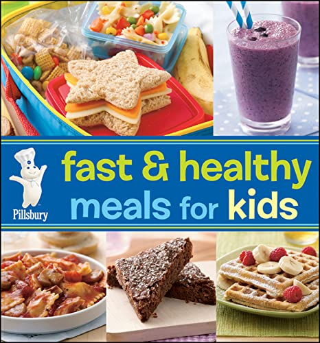 9780470647257: Pillsbury Fast & Healthy Meals for Kids