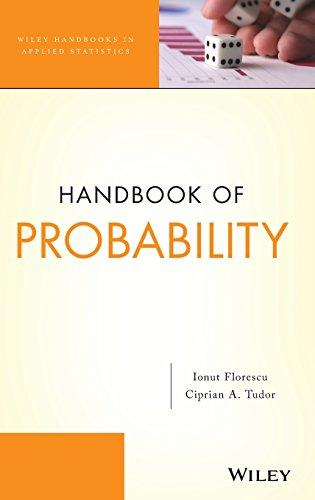 9780470647271: Handbook of Probability (Wiley Handbooks in Applied Statistics)