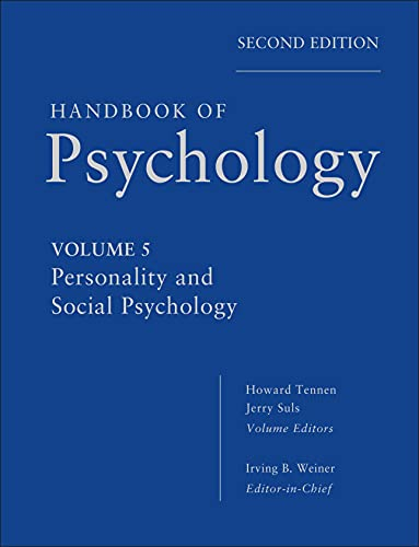 9780470647769: Handbook of Psychology, Personality and Social Psychology (Volume 5)