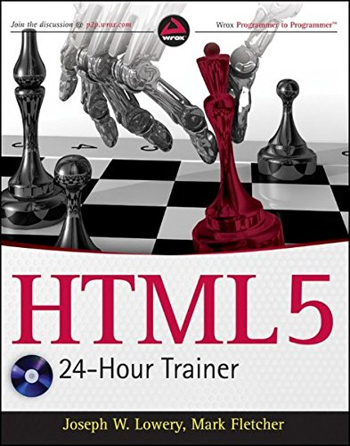 9780470647820: HTML5 24-Hour Trainer