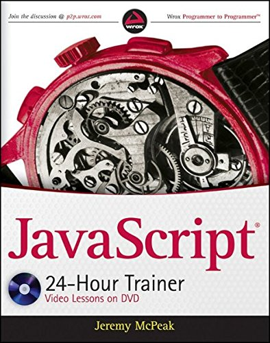9780470647837: JavaScript 24-Hour Trainer